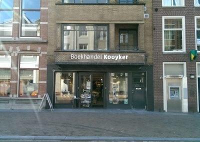 Introductie Pilgrim Fathers-complot in Boekhandel Kooyker